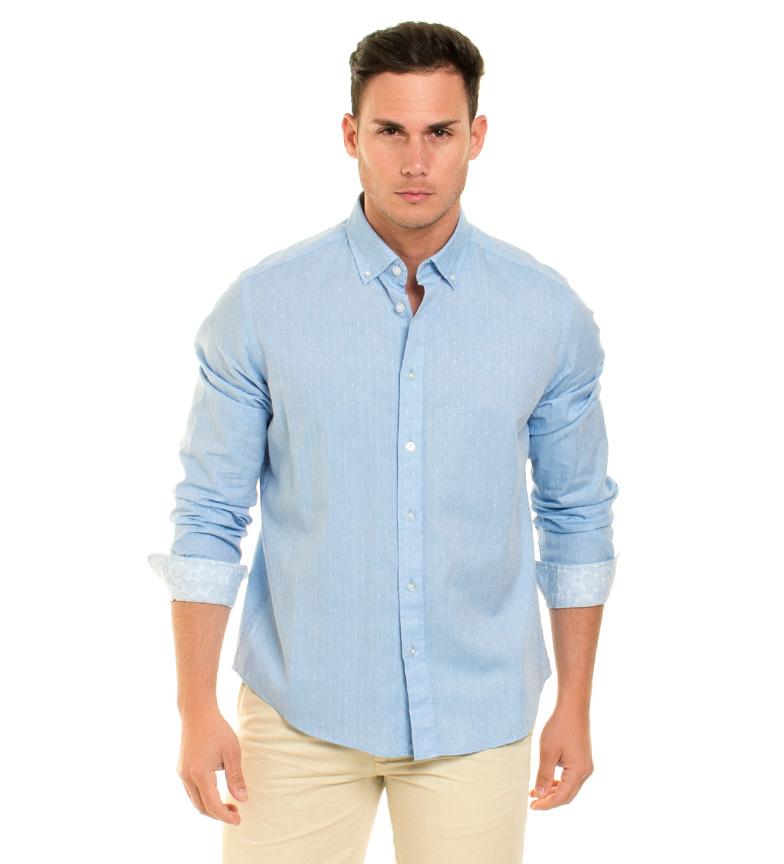 Fyord Camisa Tone azul