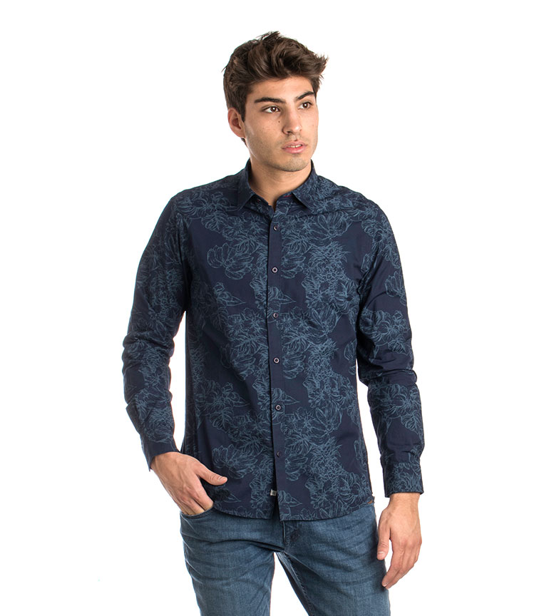 Comprar Fyord Camisa Tropic marino