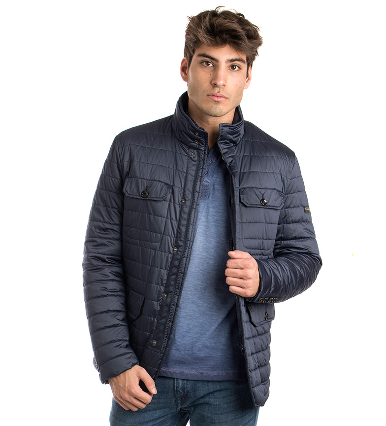 Comprar Fyord Baudi casaco impermeável marinho