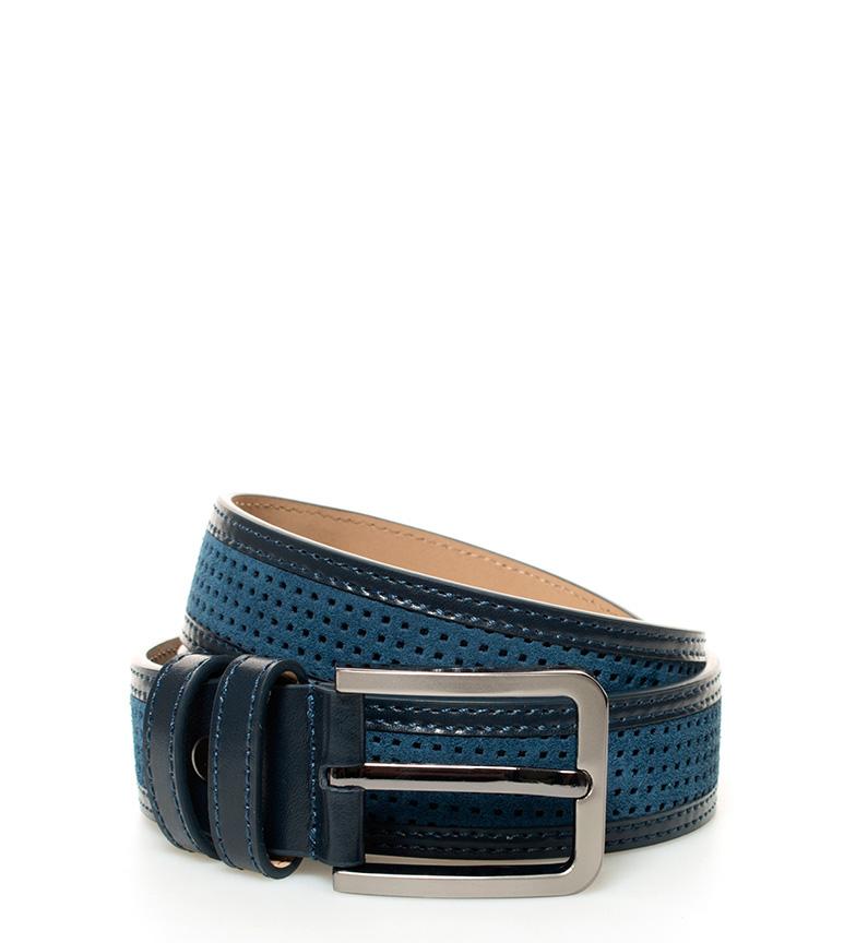 Comprar Fyord Cintura di pelle blu cape