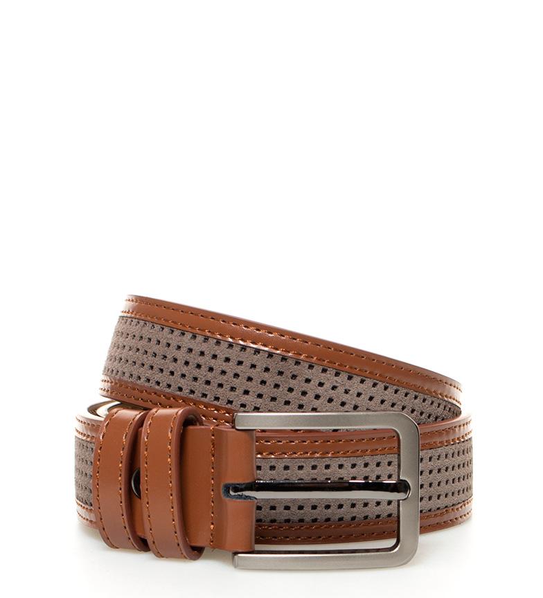 Comprar Fyord Cintura in pelle marrone del Capo, taupe