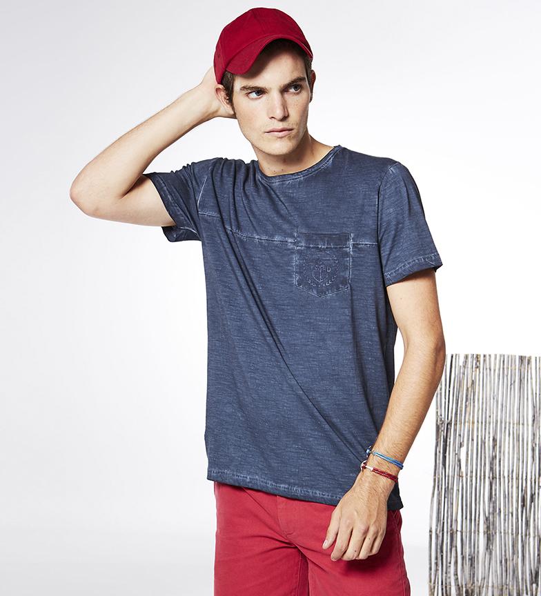 Comprar Fyord T-shirt Dimo indigo