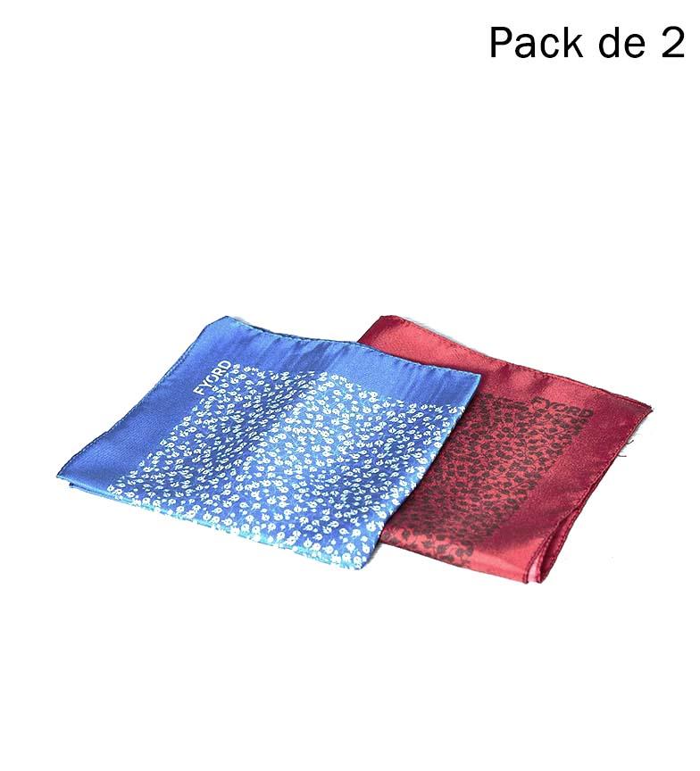 Comprar Fyord Pack of 2 Din Scarves blue, red