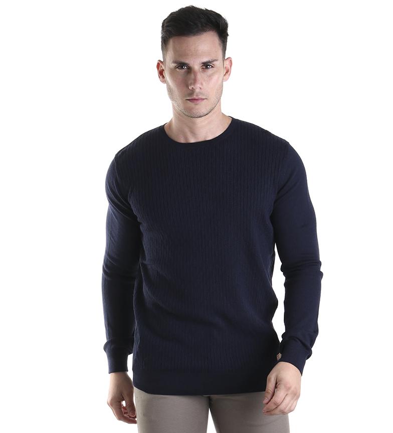 Comprar Fyord Navy Doge sweater