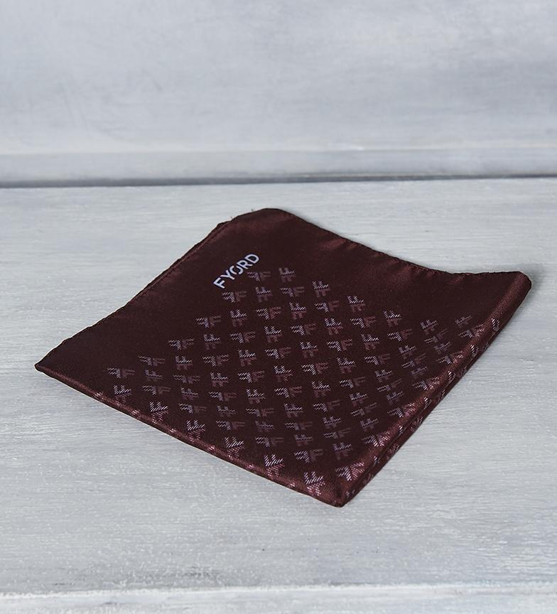 Comprar Fyord Cachecol de seda logotipo Bordeaux