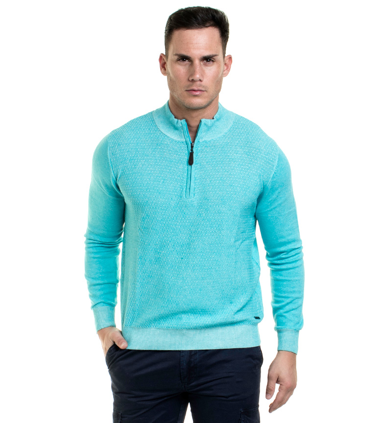 Comprar Fyord Pull Turquoise Fallet
