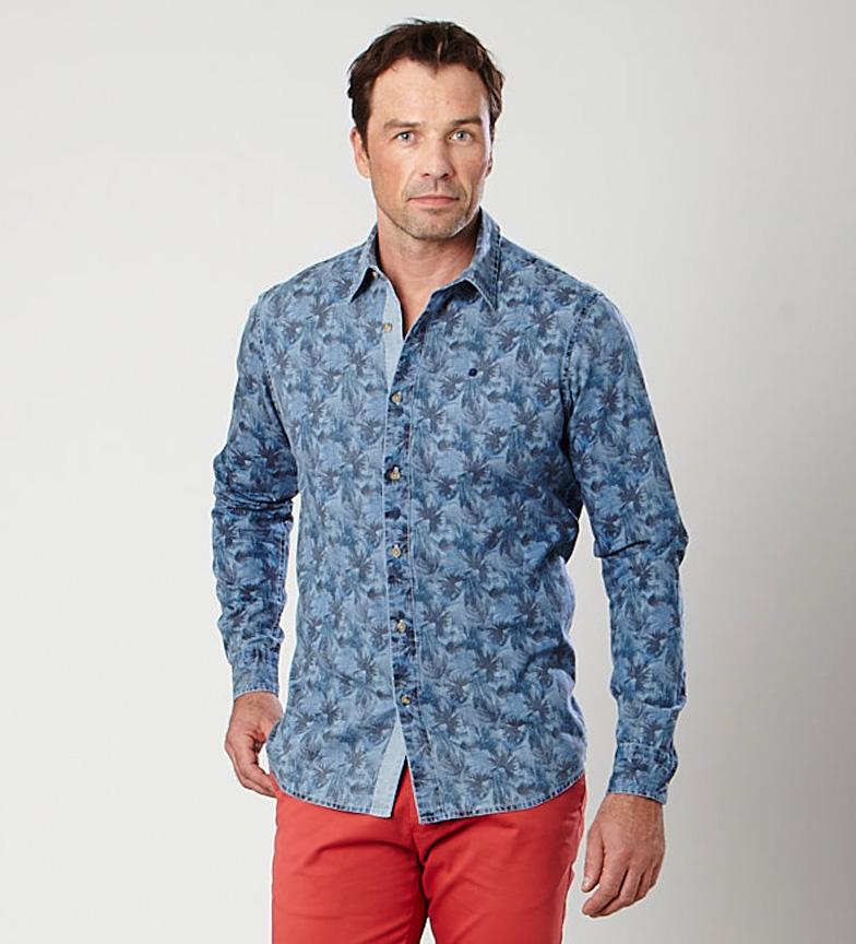 Comprar Fyord Shirt indigo Chutes