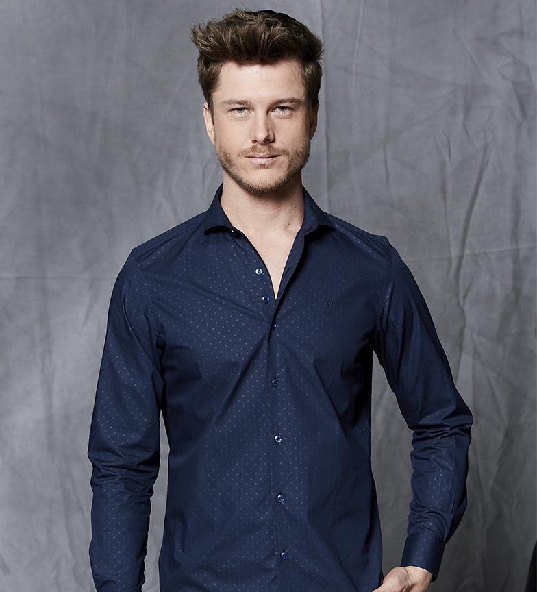 Comprar Fyord Frank marine shirt