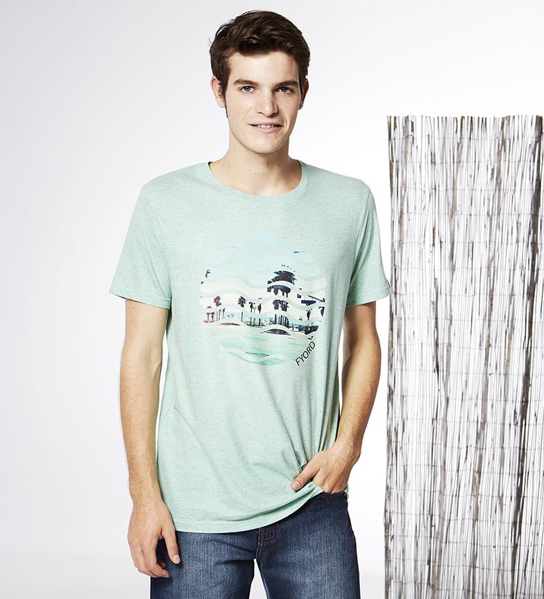 Comprar Fyord T-shirt Onda vert