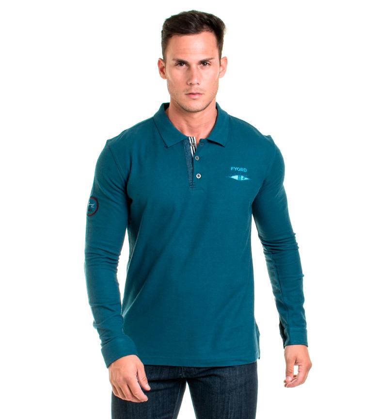 Comprar Fyord Polo blu turchese Mawson