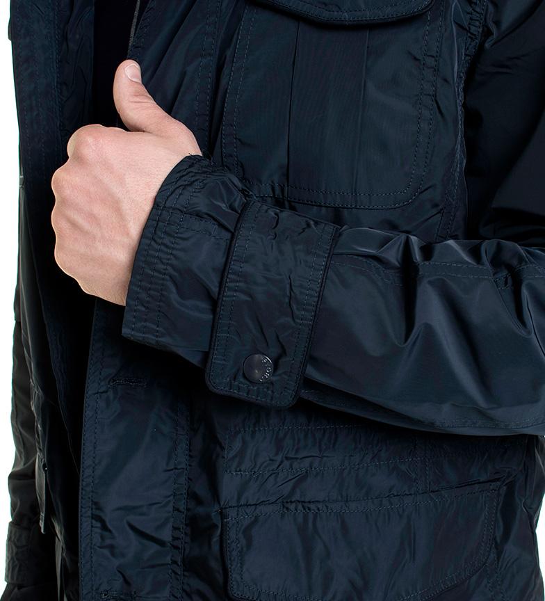 Fyord Marineblå Jakke Saker butikken for salg utløp eksklusive BgotEnaYP