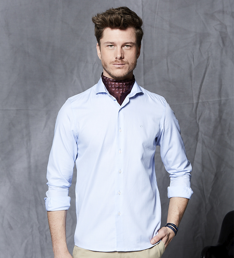Comprar Fyord Sky-blue Sion shirt