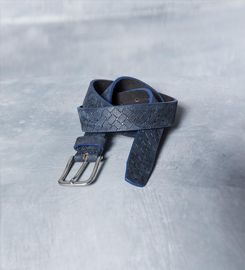Comprar Fyord Cintura di poppa in pelle marina