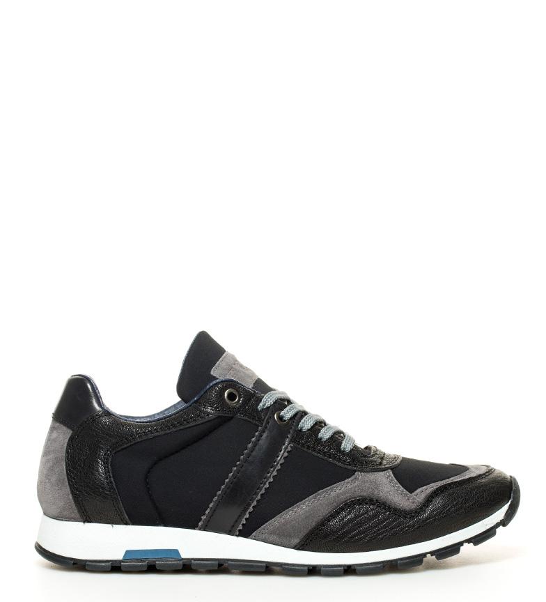 Comprar Fyord Les jeunes chaussures en cuir noir