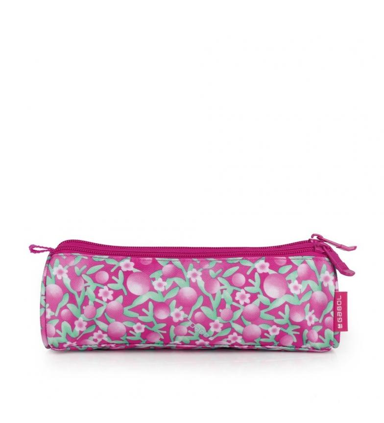 Comprar Gabol Estuche Triple Cherry rosa -22x7x7cm-