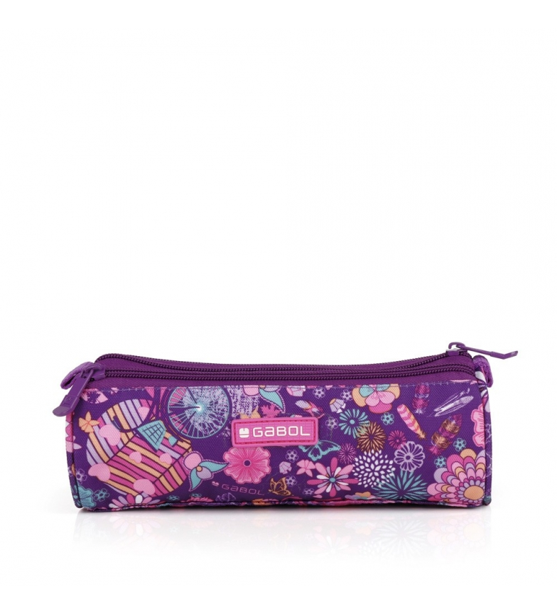 Comprar Gabol Triple April lilac case -22x7x7cm