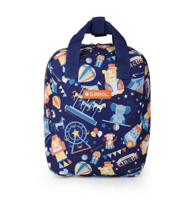 Comprar Gabol Mochila Mini Circus azul -20x26x10.5cm-
