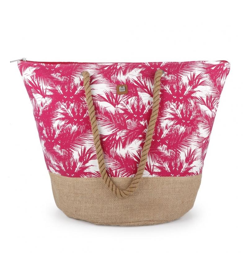 Comprar Gabol Sac de plage framboise de Tahiti -56x41x34cm
