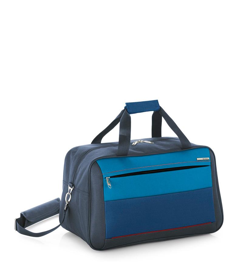 Comprar Gabol Borsa da viaggio blu Reims -50x30x27 cm-
