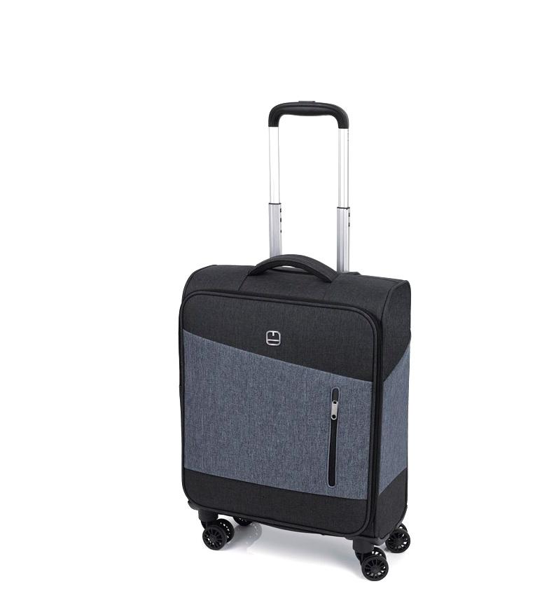 Comprar Gabol Trolley cabina Saga negro -39x55x20cm-