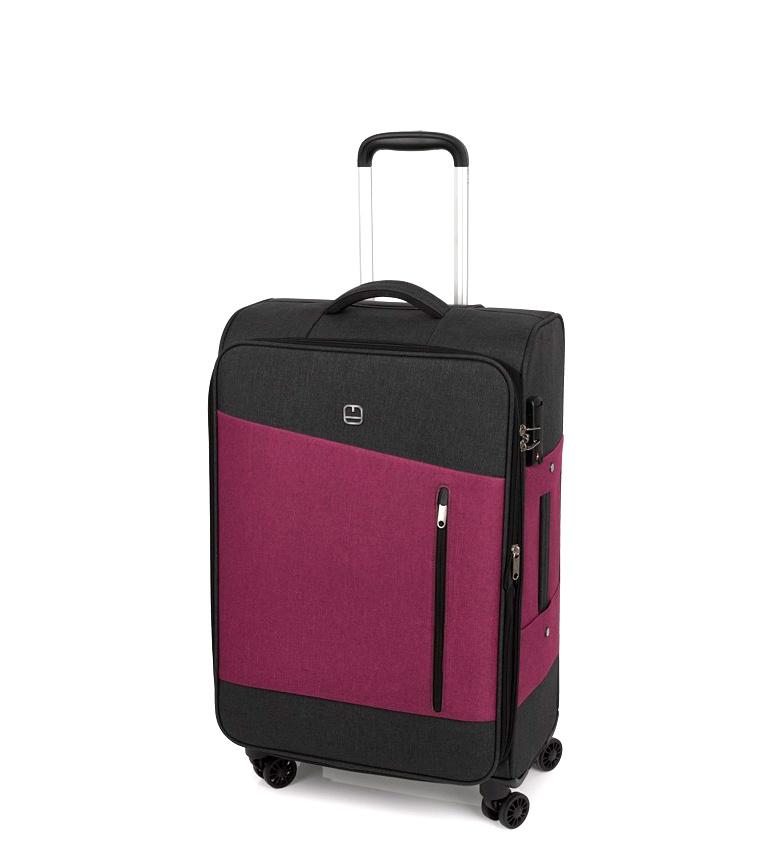 Comprar Gabol Trolley mediana Saga rojo -42x68x27cm-