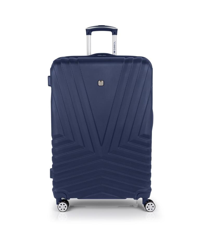 Comprar Gabol Trolley Atlanta grande azul -52x75x29cm-
