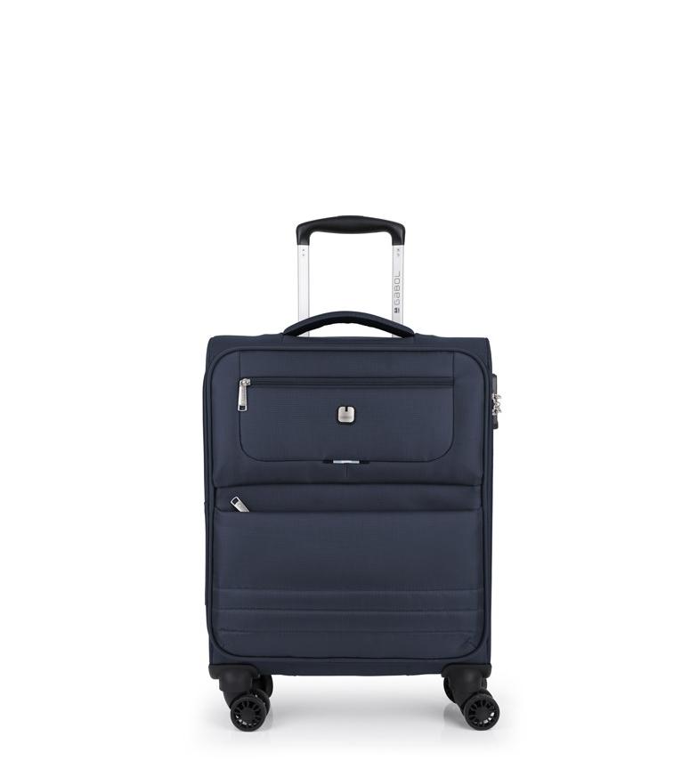 Comprar Gabol Chariot de cabine bleu Aruba -39x55x20cm