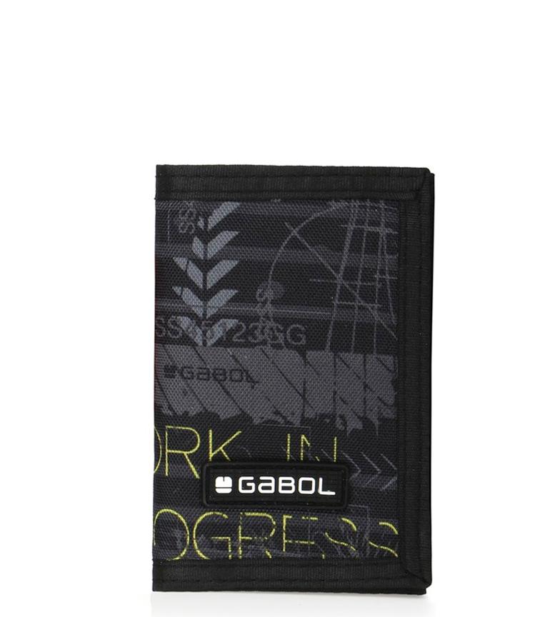 Comprar Gabol Carteira preta de sinal -12.5x9x1cm-