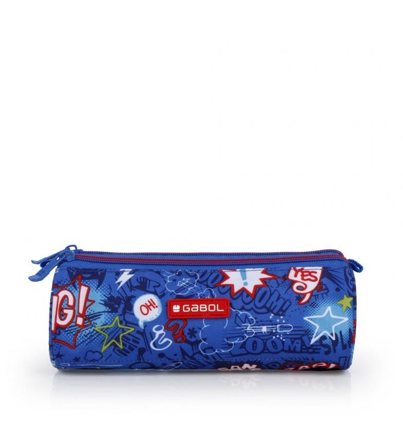 Comprar Gabol Estuche Bang azul -22x7x7cm-