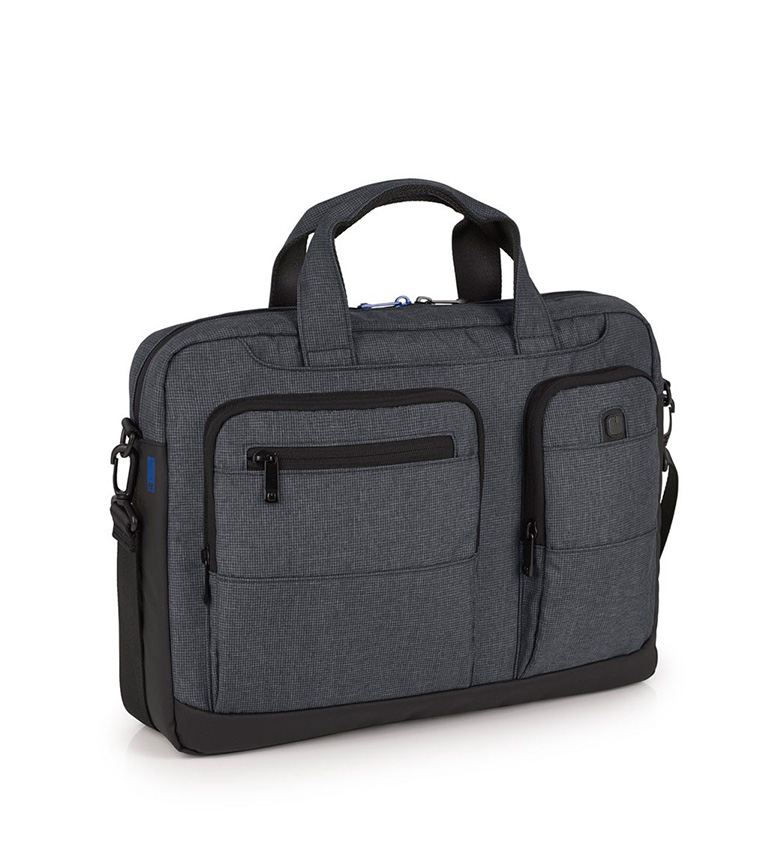 Comprar Gabol Maletín Expert gris -42x31x9cm-