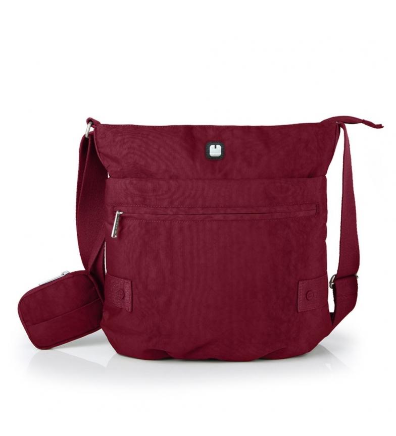 Comprar Gabol West burgundy shoulder bag -32x31x9cm