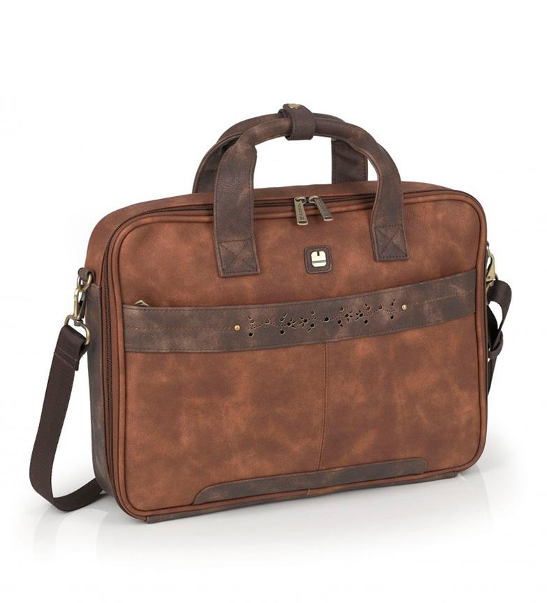 Comprar Gabol She case brown -39x29x8cm-