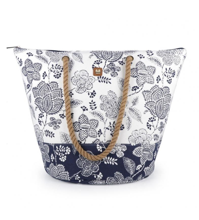 Comprar Gabol Havana beach bag blue -56x41x34cm