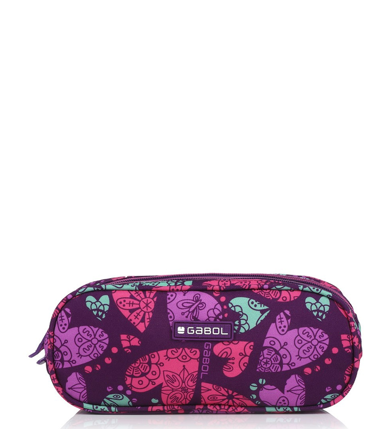 Comprar Gabol Triple Case Dream purple -22x9x9cm-