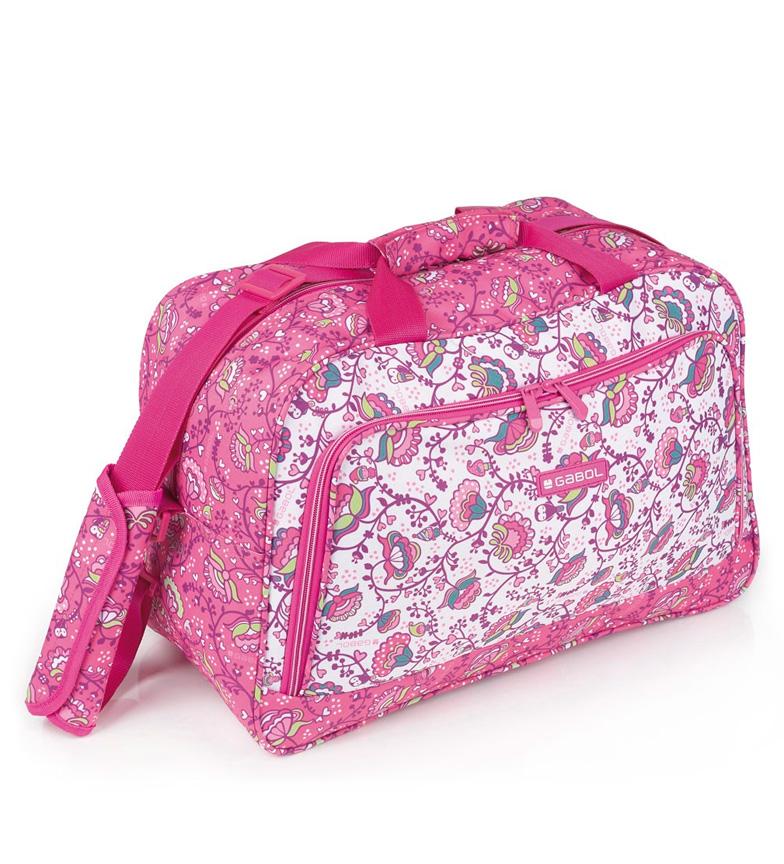 Comprar Gabol Bolsa pañalera Magic rosa -45x30x22cm-