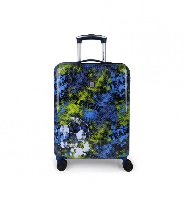 Comprar Gabol Coach Trolley Suitcase bleu - 40x55x20cm