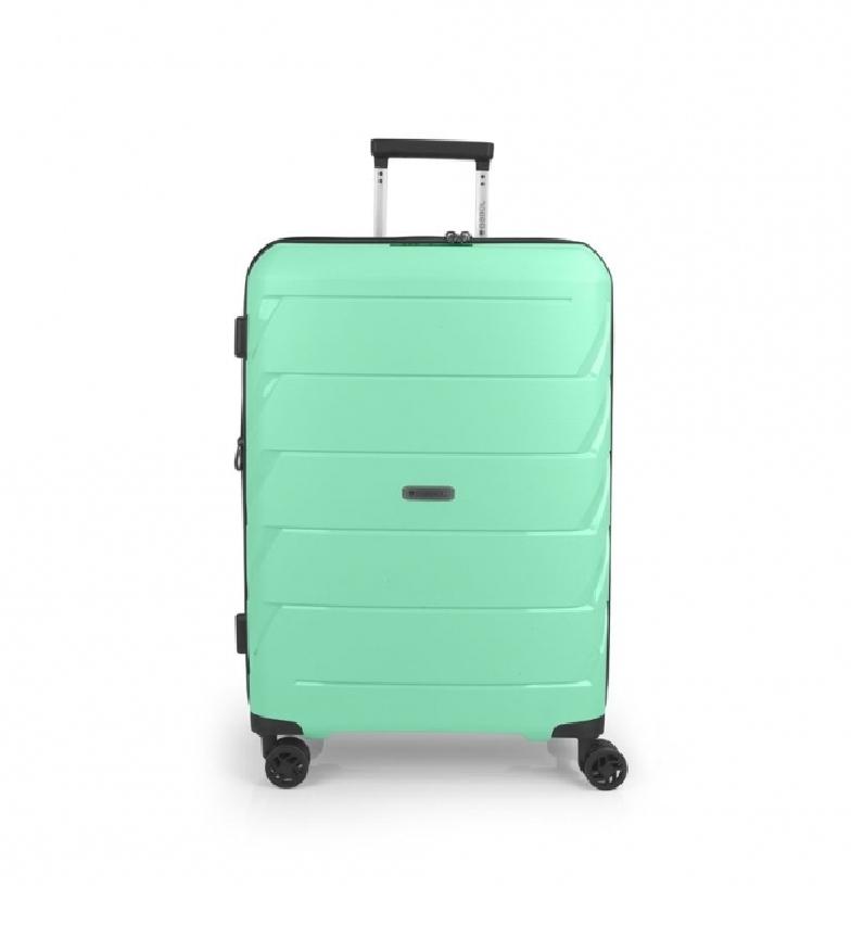 Comprar Gabol Mala de viagem média verde Sakura - 45x66x27cm