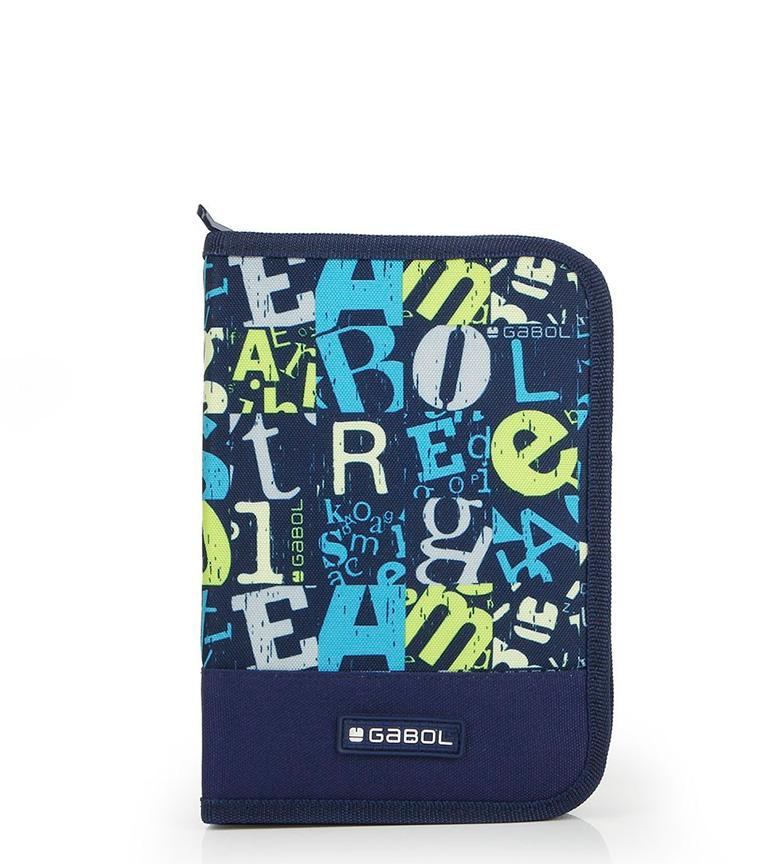Comprar Gabol Marker case blue -14.5x21.5x4.5cm-