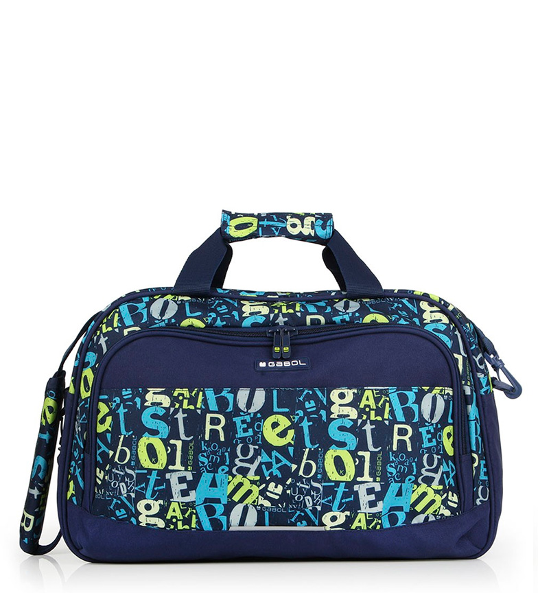 Comprar Gabol Bolsa pañalera Marker azul -45x30x22cm-