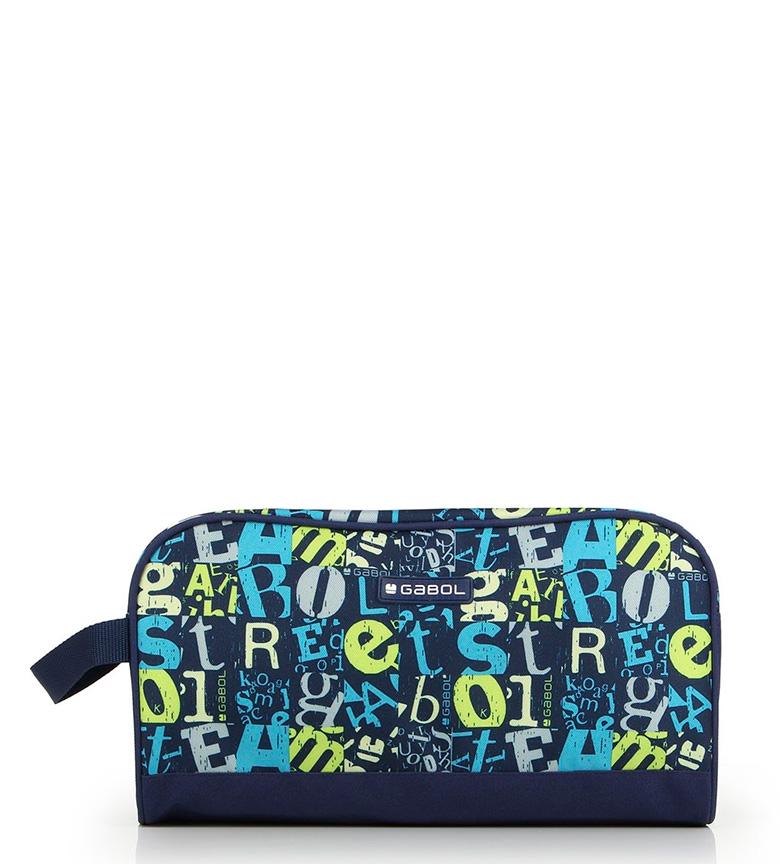 Comprar Gabol Marker toilet bag blue -30x16x14cm-