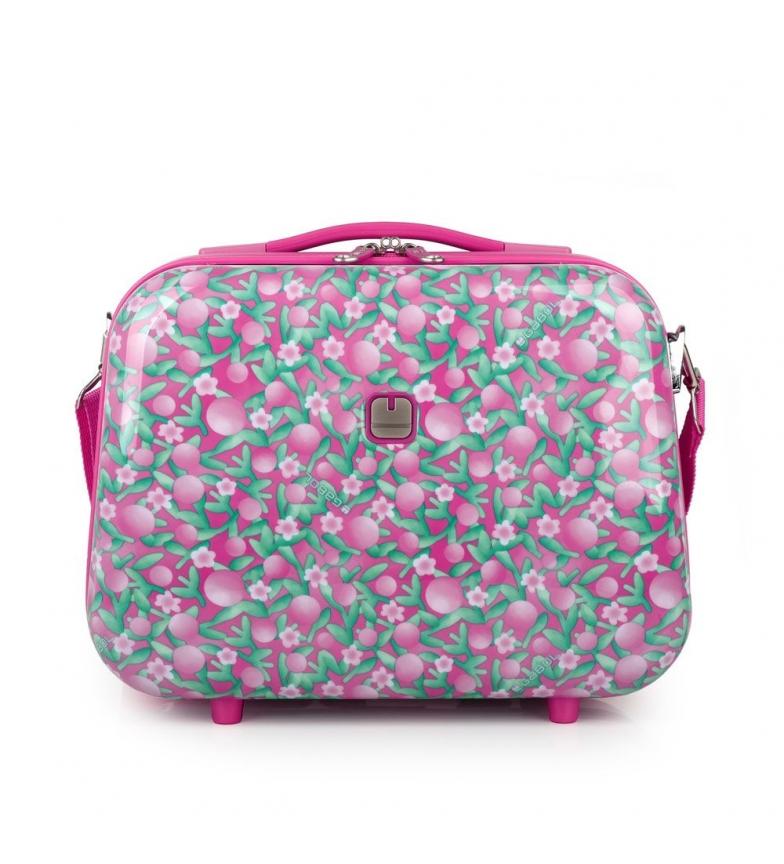 Comprar Gabol Saco de banho rígido cor-de-rosa cereja -35x28x18cm