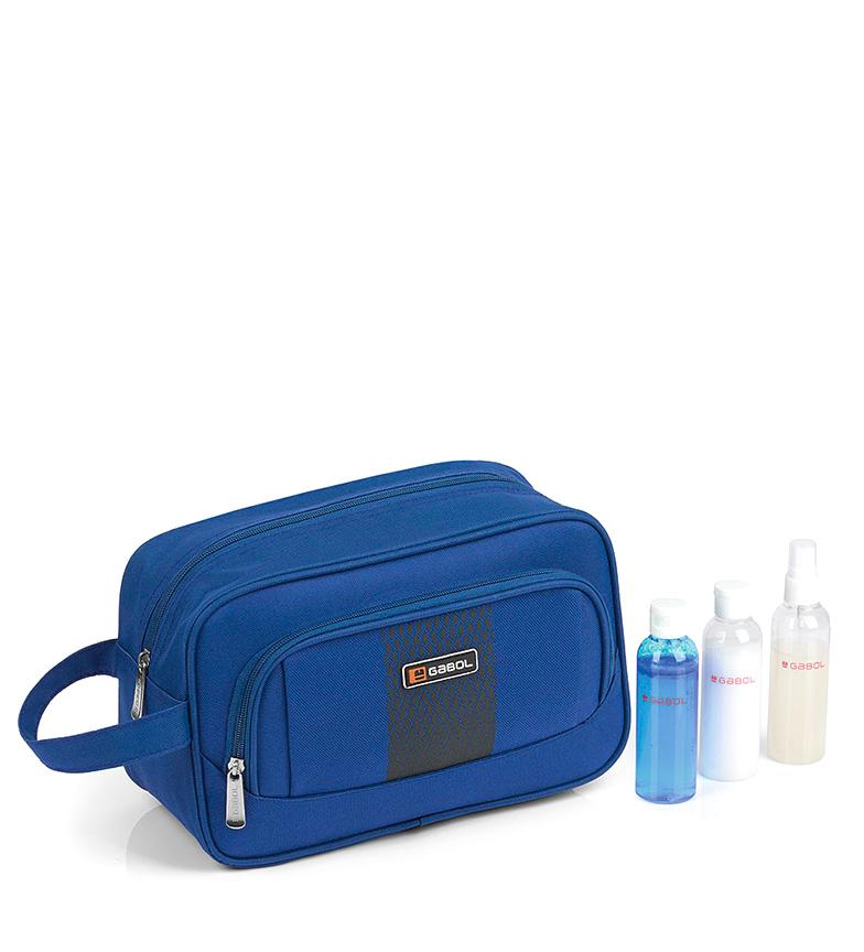 Comprar Gabol Rouleau Washbag bleu 30x18x13 cm