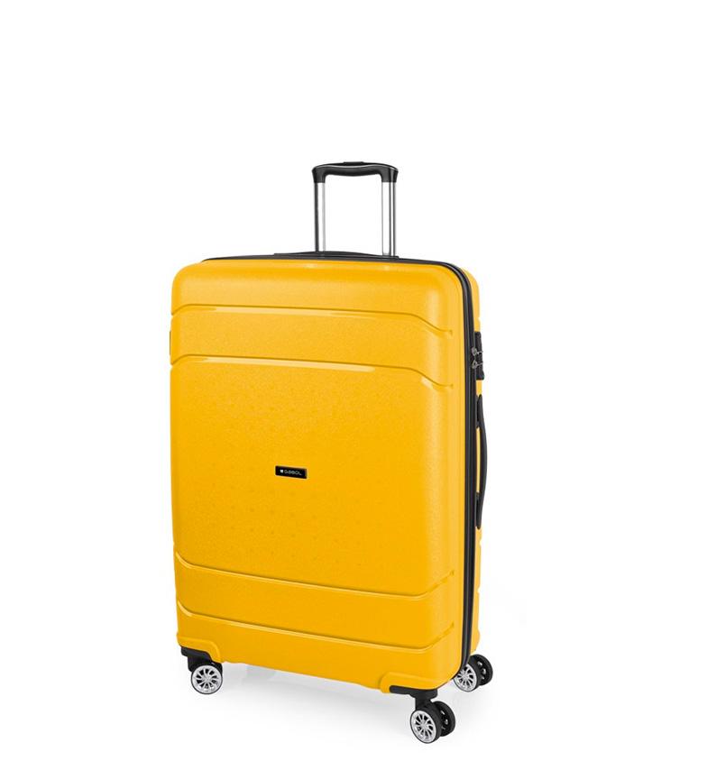 Comprar Gabol Trolley grande Shibuya amarillo -51x77x29cm-