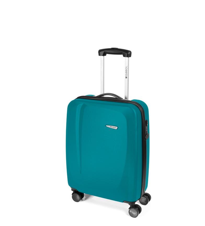 Comprar Gabol Trolley cabin turquoise Line -39x55x20cm-