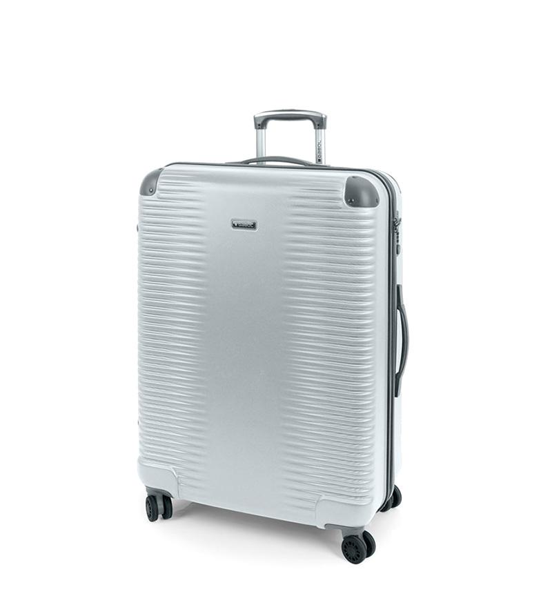 Comprar Gabol Trolley grande Balance plata -52x76x28cm-