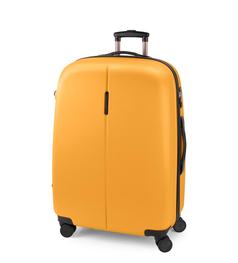Comprar Gabol Trolley grande Paradise cierre TSA mostaza -56x77x32cm-