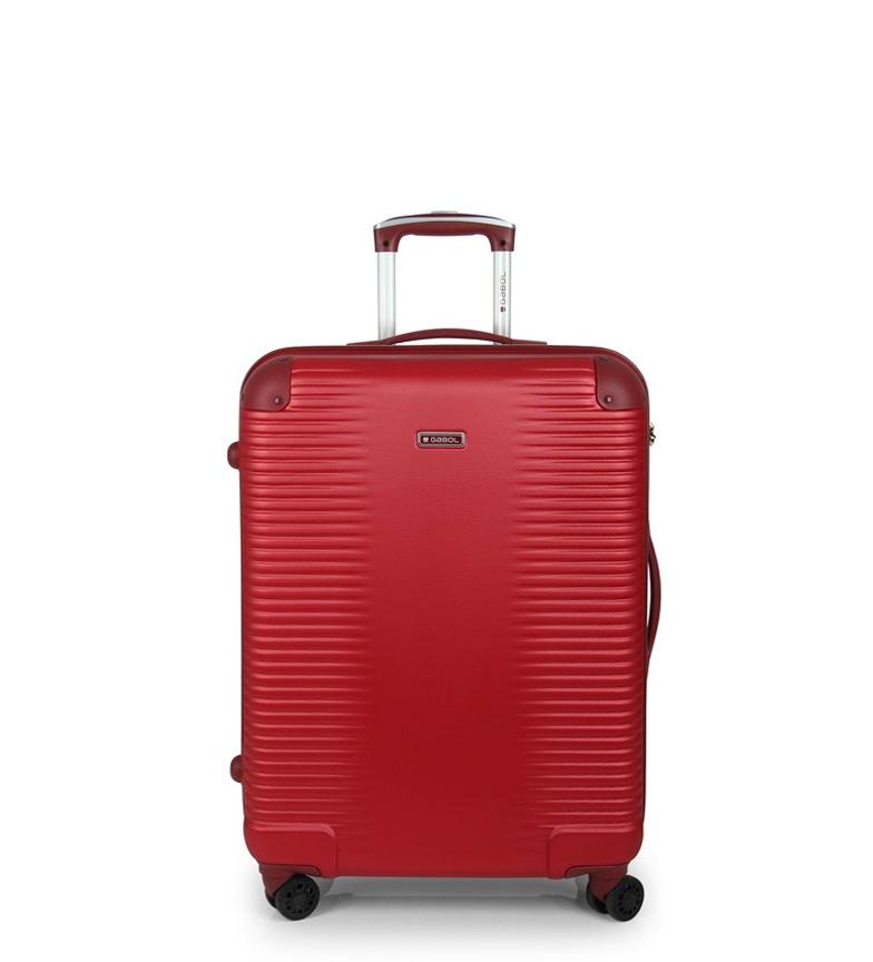 Comprar Gabol Carrinho de equilíbrio médio vermelho -47x66x25cm-