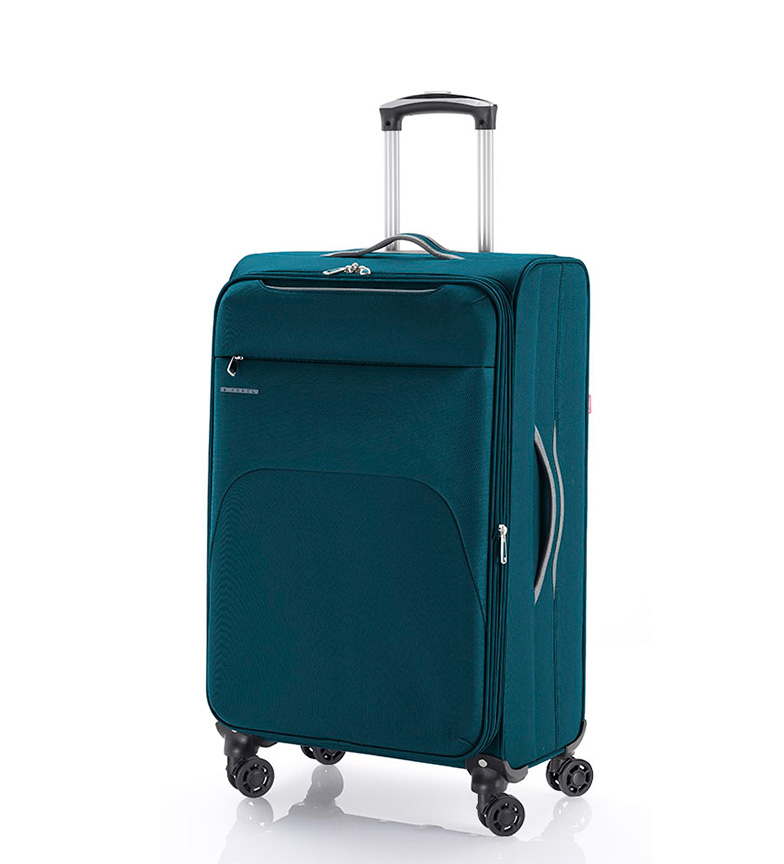 Comprar Gabol Blocco Media Trolley TSA Zambia turchese -33x55x20cm-