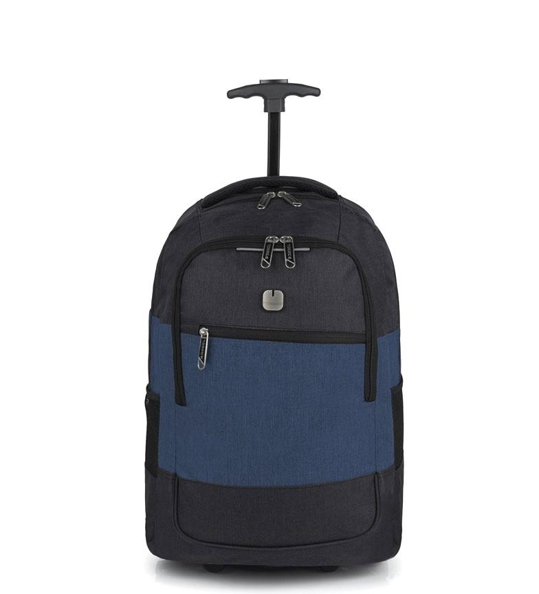 Comprar Gabol Cabin trolley-Blackpack Saga blue -33x53x20cm-