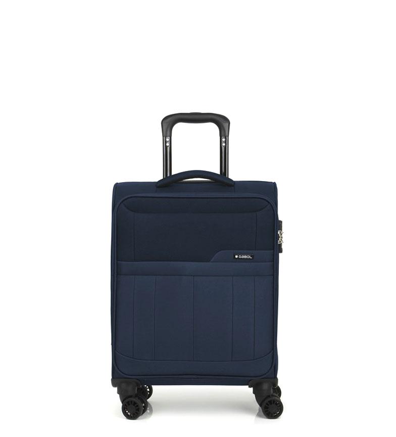 Comprar Gabol Trolley cabina Roma azul -39x55x20cm-
